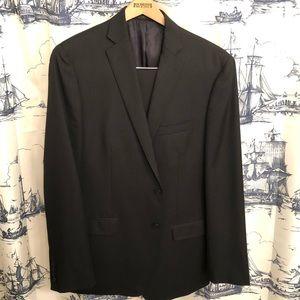 Calvin Klein 100% Wool Suit 44L